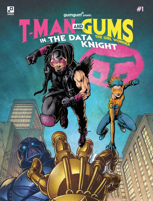 GumGum TMobile Comic T-Man John Legere Ben Plomion